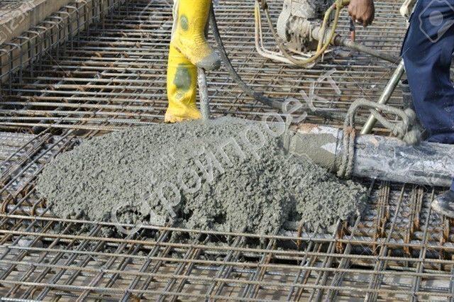 высота бетона
