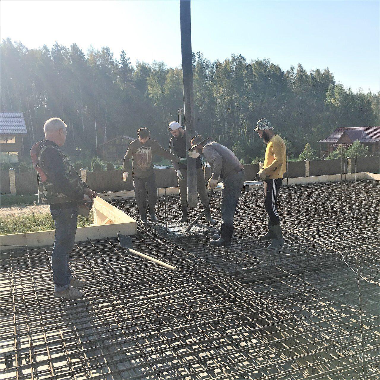 Высота бетона вертикальная заливка бетона